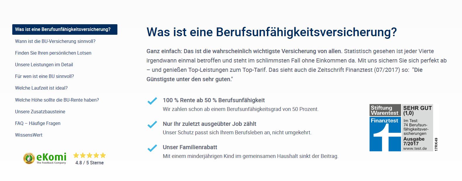 Hannoversche Berufsunfahigkeitsversicherung 08 2019 Test Erfahrungen